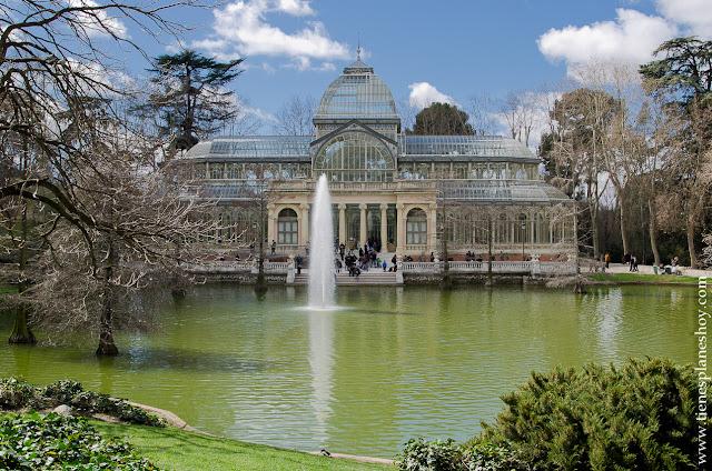 Palacio de Cristal Retiro Madrid