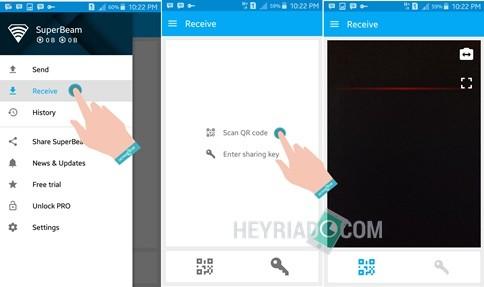 Cara Transfer File Besar Dengan Cepat Di Android