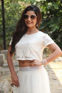 Actress Aqsa Bhatt Stills At Oru Melliya Kodu Movie Audio Launch  0006.jpg
