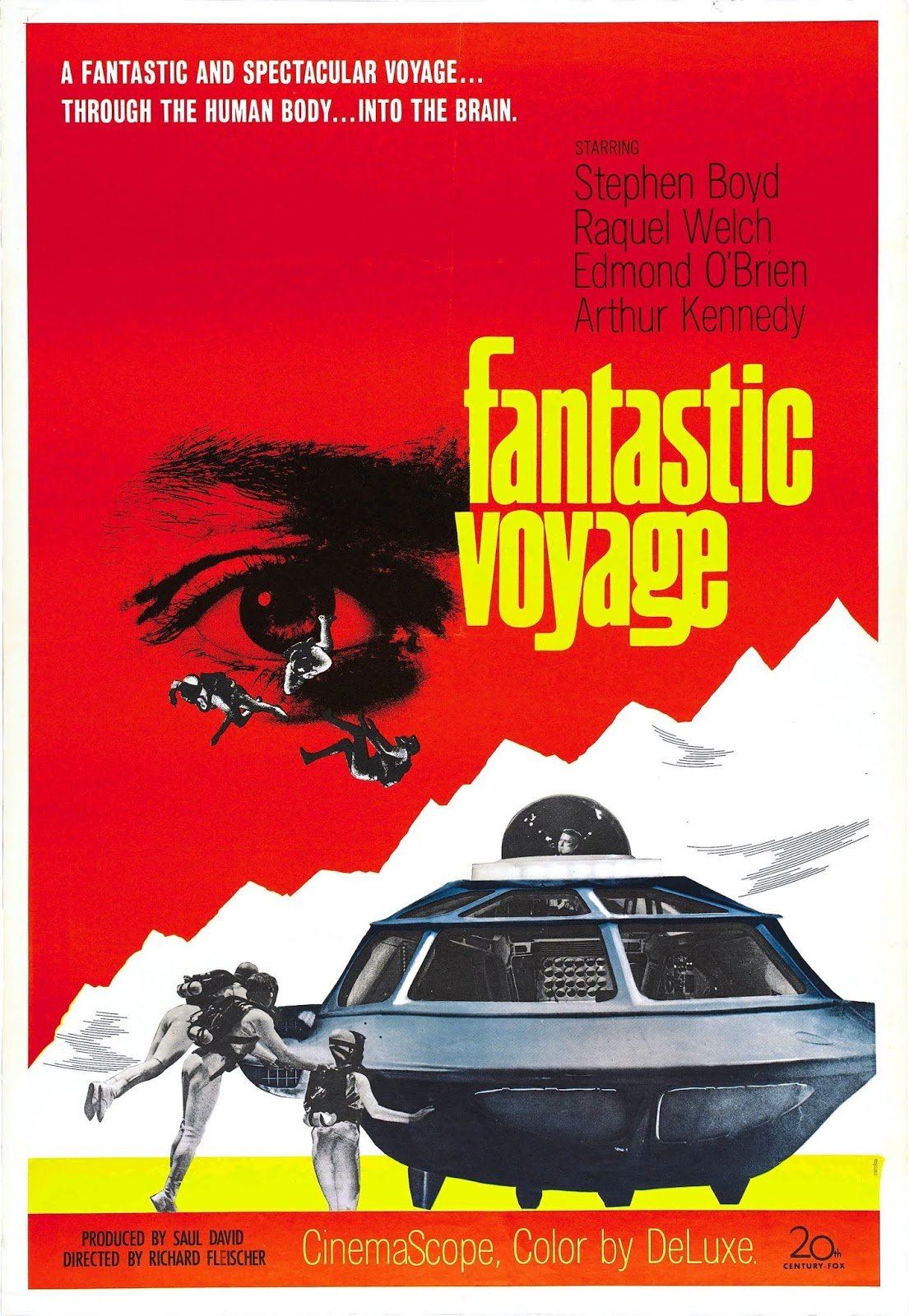The Signal Watch: Sci-Fi Watch: The Fantastic Voyage (1966)
