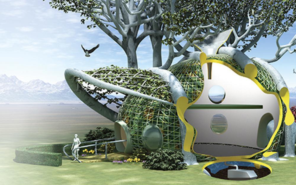 5 Maisons futuriste | Cours BTP