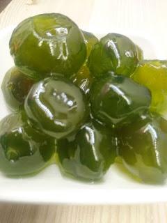 Yeşil Mandalina Reçeli