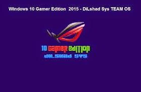 نسخة ويندوز 10 Windows 10 Gamer Edition 2016 X64 X86 معدلة رائعة لمستخدمي العاب الكمبيوتر coobra.net