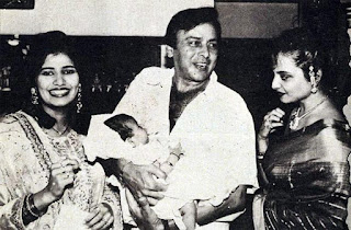 vinod mehra with wife kiran