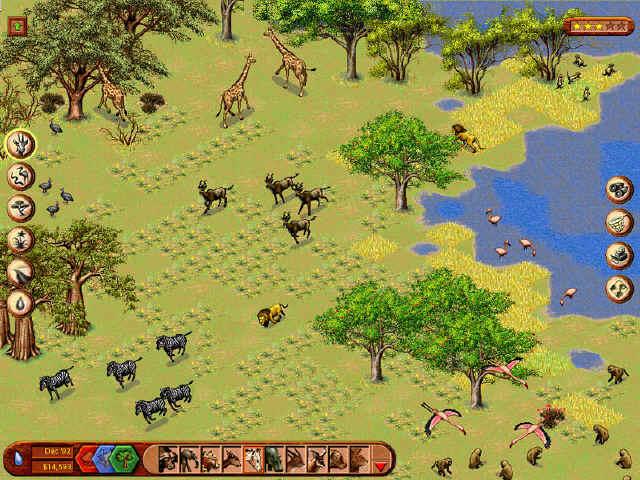Sim Safari | Game Tak Terbatas