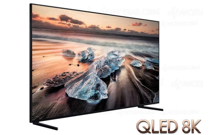 سامسونج تقدم 4 شاشات QLED 8K رائعة