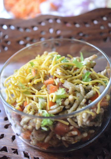 Bhel Puri | Indian chat Recipe