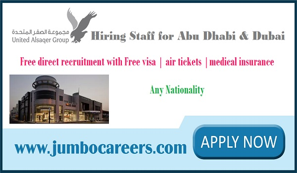 UAE jobs for Indians, Recent job openings in Abu Dhabi & Dubai,