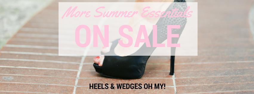 More Summer Essentials on Sale Banner
