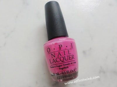 OPI nail lacquer If you moust, you moust