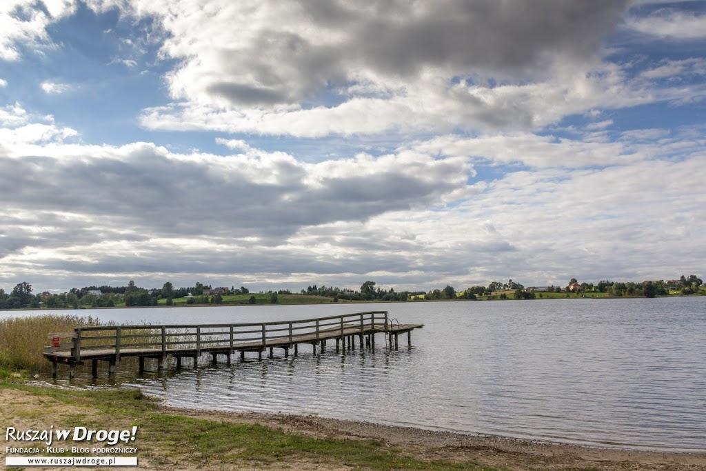 Jezioro w Wiżajnach
