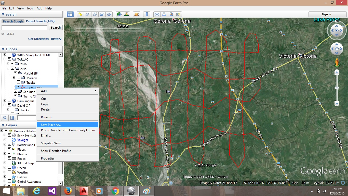 ALEX Corner: Extract Topographic Points from Google Earth