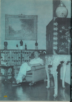 Maugham at home
