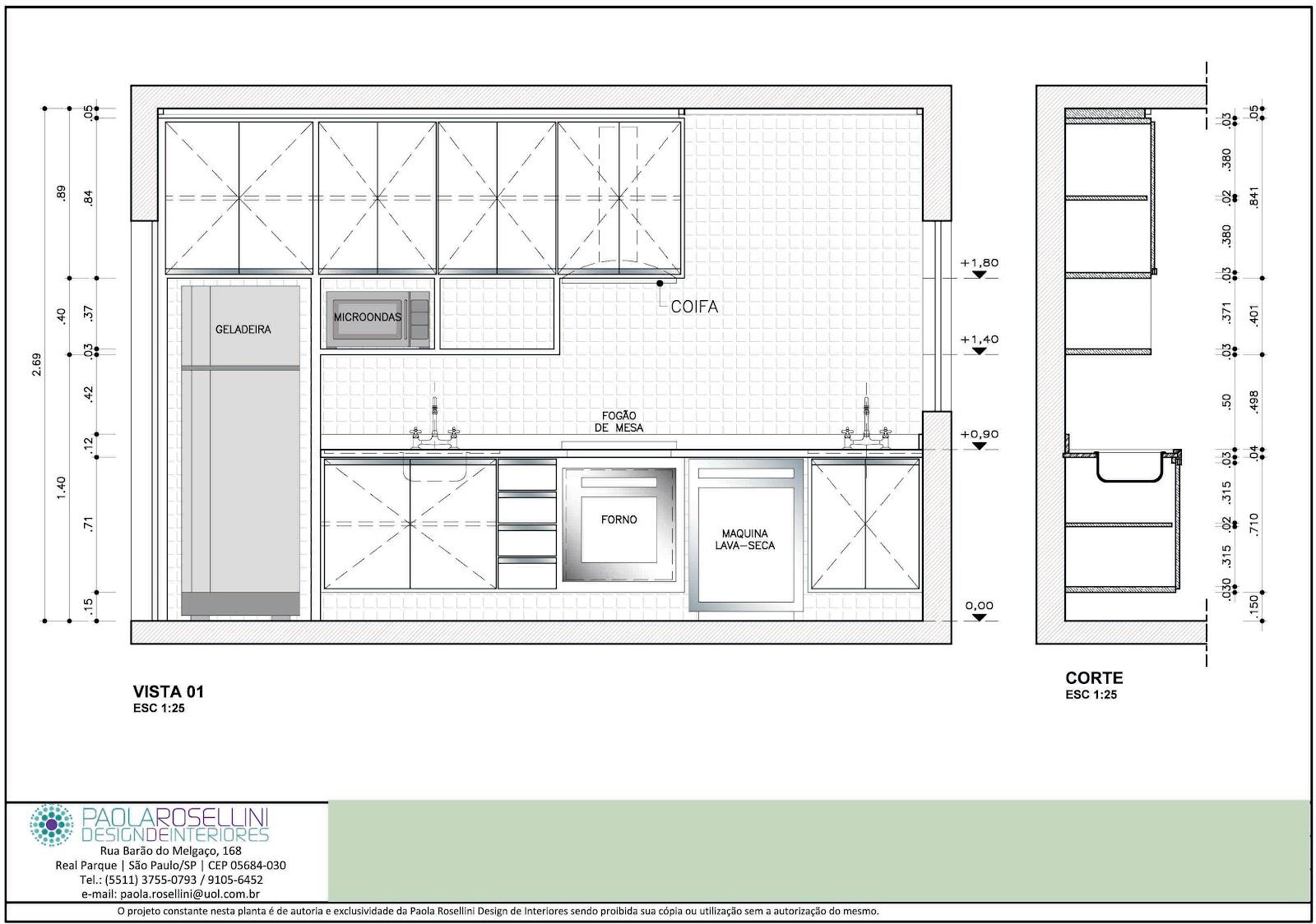 Portif lio 12 desenho de mobili rio for Software armarios