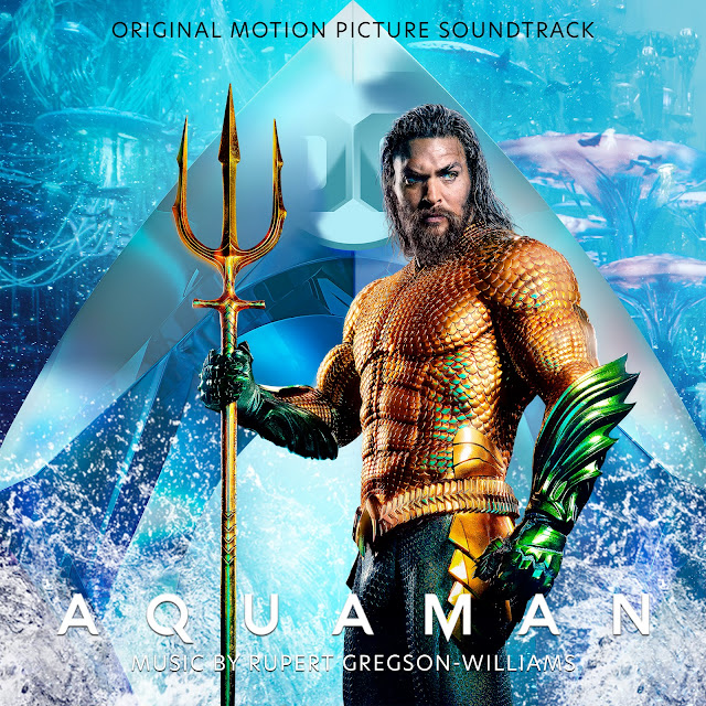 Aquaman OST CD Cover