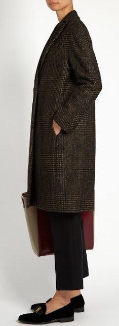 Bruno Cucunelli tweed coat on Matchesfashion.com