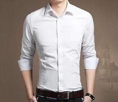 Kemeja Pria Putih Polos Formal Slimfit <p>Rp100.000</p> <code>Kemeja-Polos-1</code>
