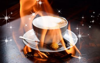 Wallpaper: Morning Flavor Cappuccino