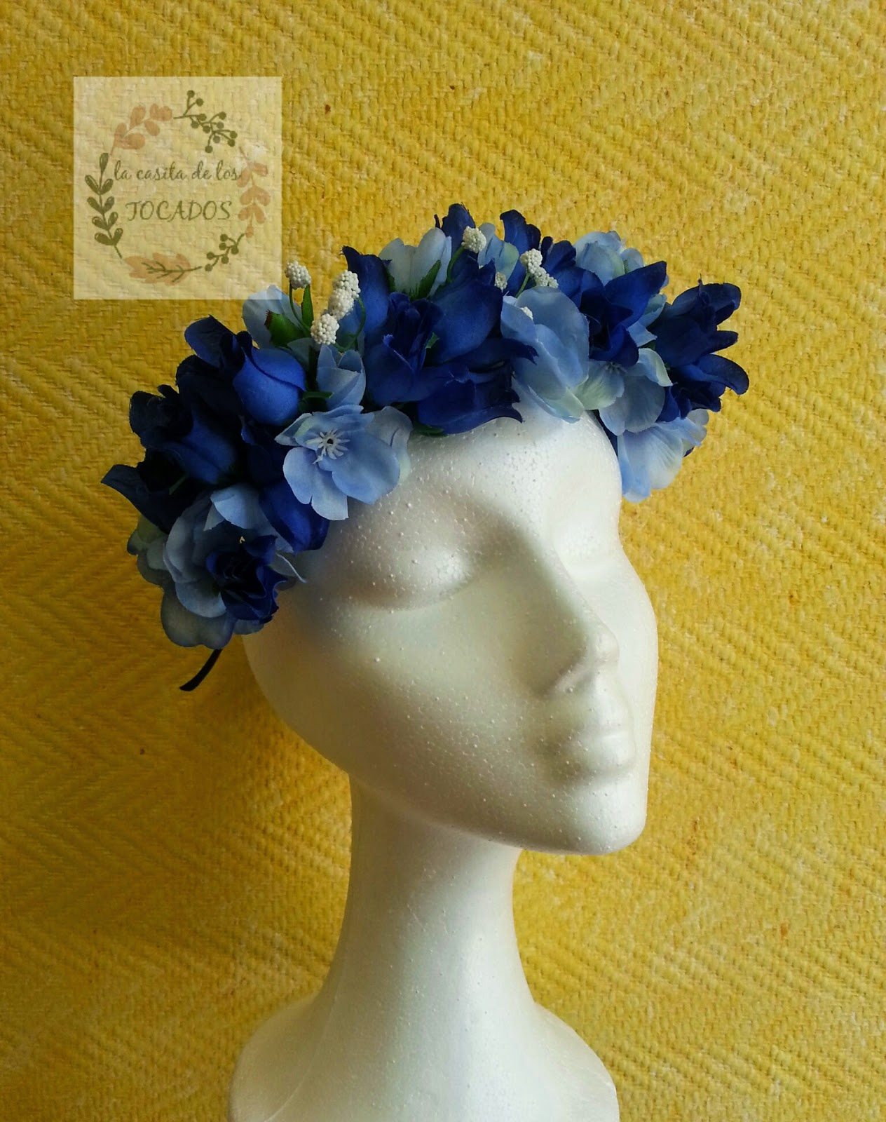 corona de flores para boda o eventos de fiesta estilo informal