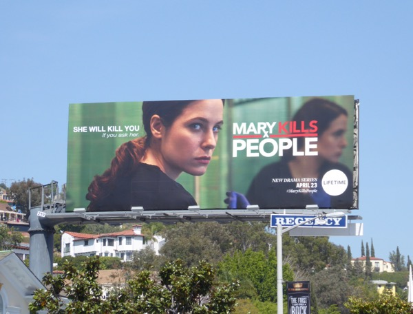Mary Kills People season 1 billboard