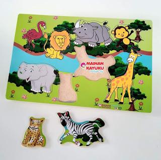 Gambar Puzzle Hewan