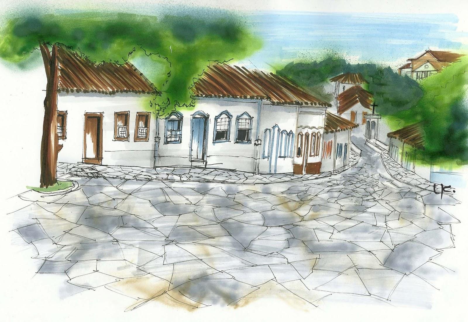 urban sketchers brasil diário gráfico de goiânia go goiás velho go