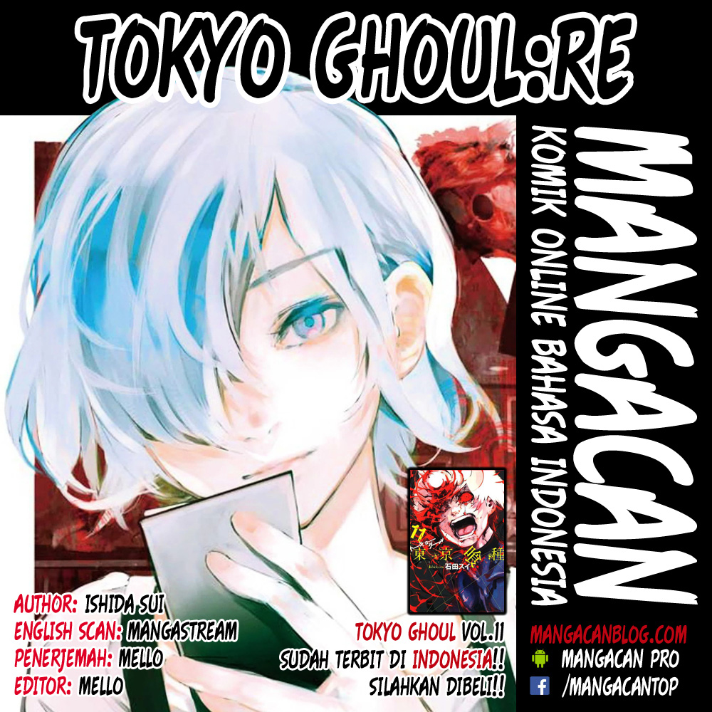 Tokyo Ghoul:Re Chapter 175 Bahasa Indonesia