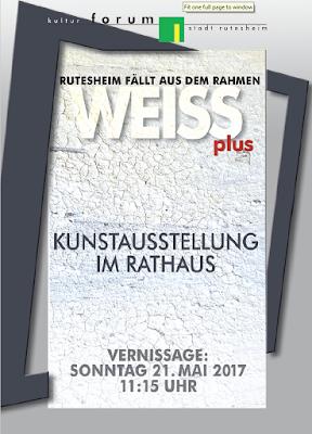 Einladung zur Vernissage ins Rathaus Rutesheim