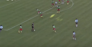 الأرجنتين والكاميرون 1990