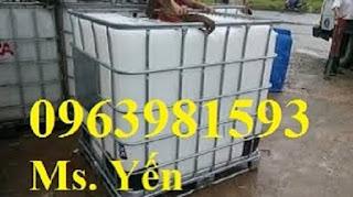 Cung cấp bồn chứa nước, bồn đựng hóa chất, bồn nhựa 1000 lít