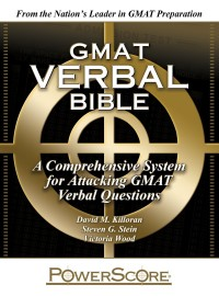 Powerscore GMAT verbal bible