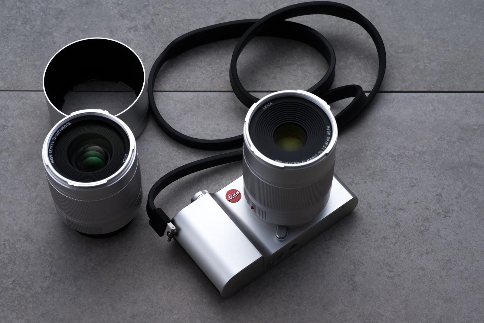Leica TL2 с двумя объективами