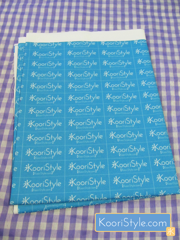 Cute Kawaii Spoonflower Fabric Label Koori Style
