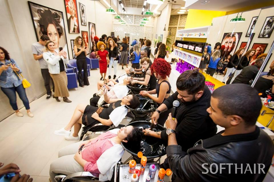 Evento Lojas Rede e Soft Hair Cosméticos: #quevolumeéesse