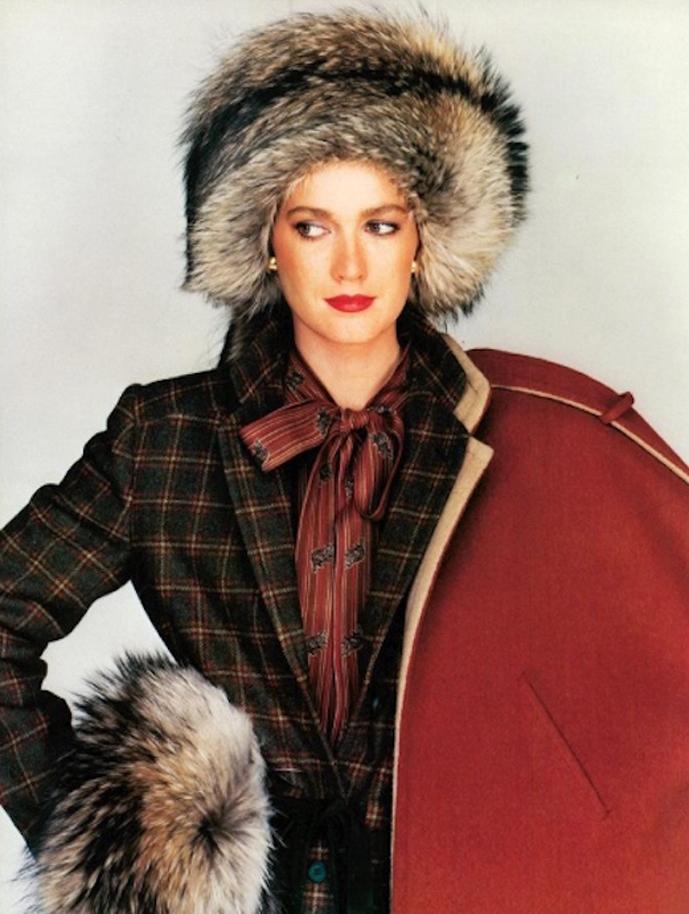 Mila Schon Fall/Winter 1982 designs photographed by Fabrizio Ferri