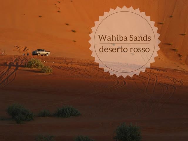Dormire al Wahiba sands: il deserto rosso dell'Oman