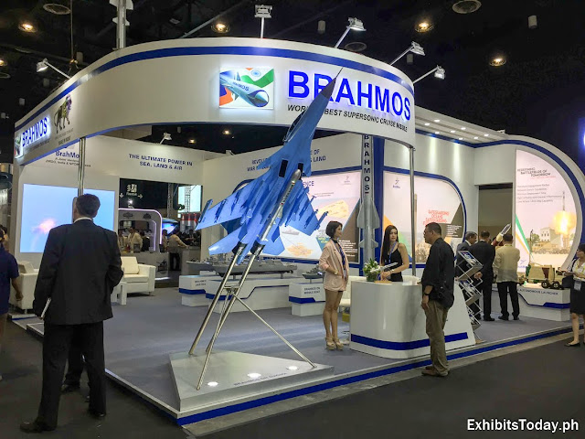 Brahmos Tradeshow Display