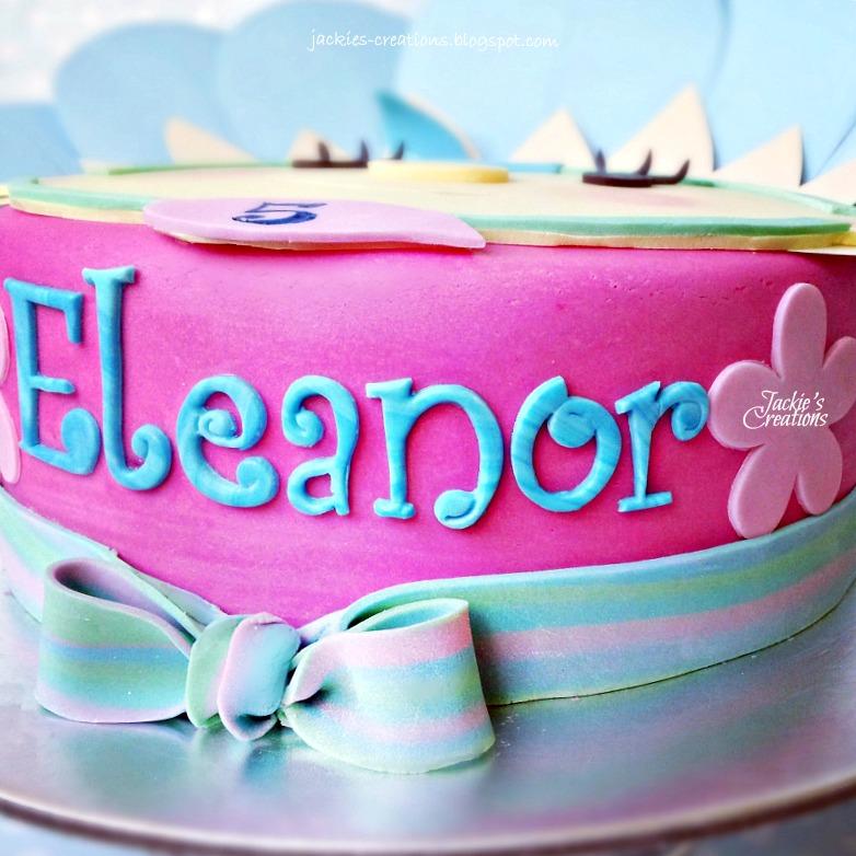 Happy Birthday Jackie Cake