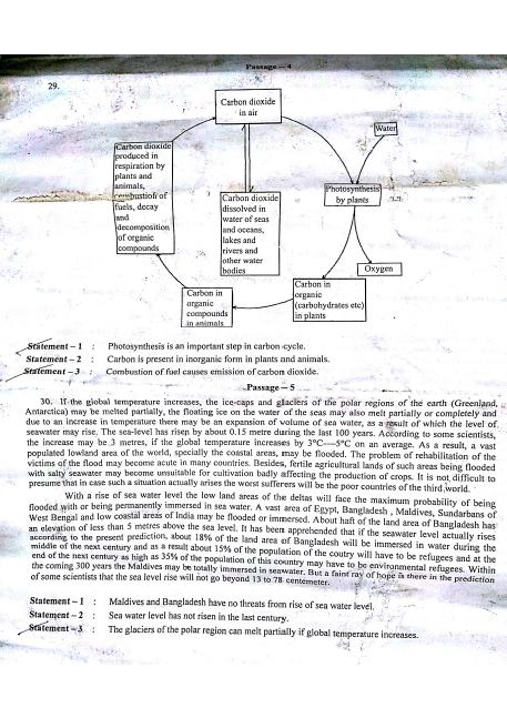 University of Calcutta B Com (H) EVS Part III 2015 Question Paper