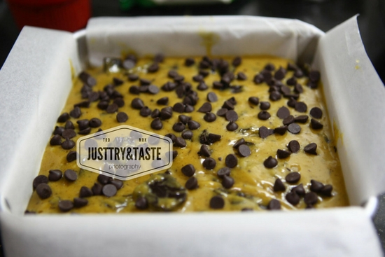 Resep Wafer Blondie dengan Chocochips