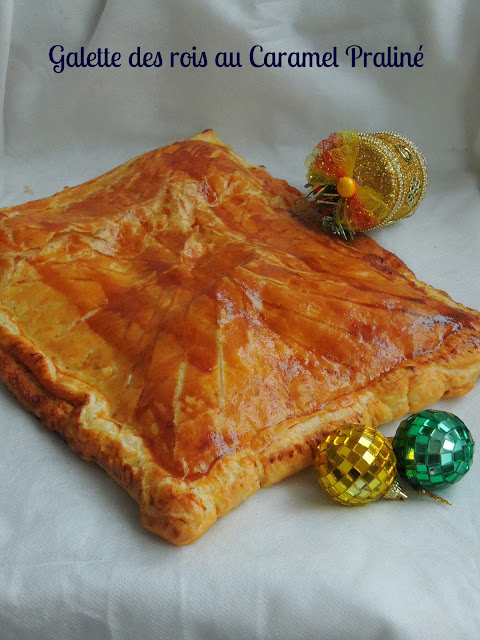 French King's Cake with Caramel