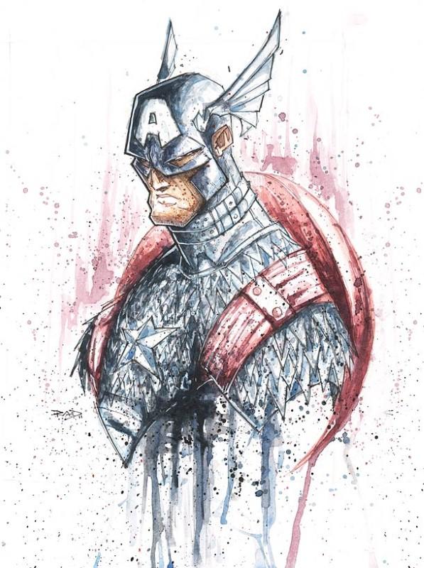 Супер герои. Rob Duenas 29