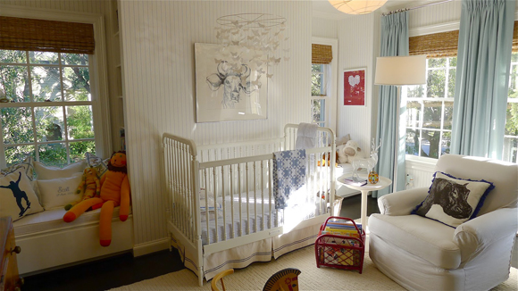Ashley S Nursery Wasn T Actually Featured In The Mag But Blogger Lauren Of Semi Designed Life Took These Pictures While Touring Home Person