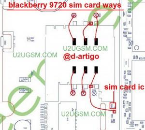 Blackberry 9720 Insert Sim Problem Full Jumper Diagram