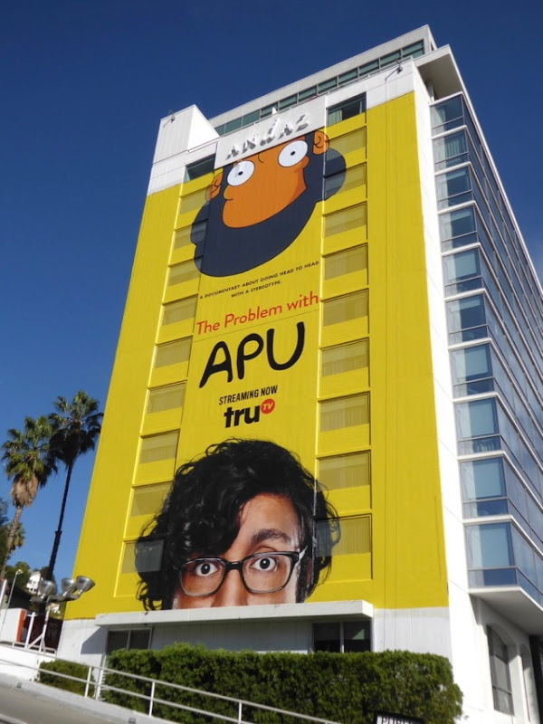 Problem with Apu documentary billboard