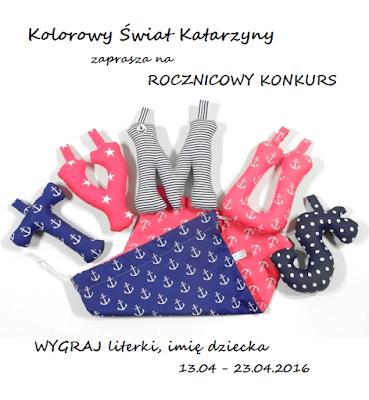 http://kolorowyswiatkatarzyny.blogspot.com/2016/04/rocznicowy-konkurs.html