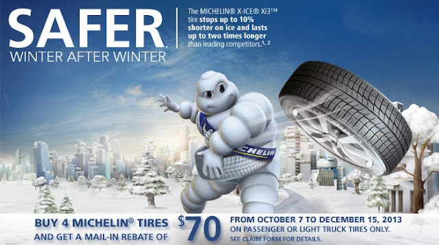 Michelin Tire Coupons or Rebates March 2014