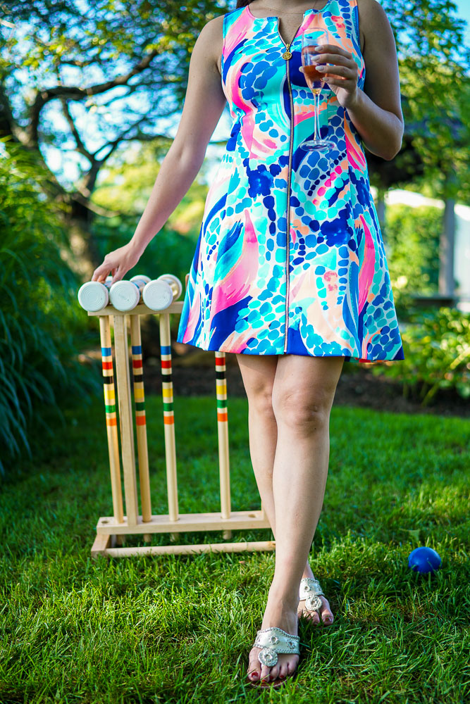 croquet, Hamptons activities, Jack Rogers