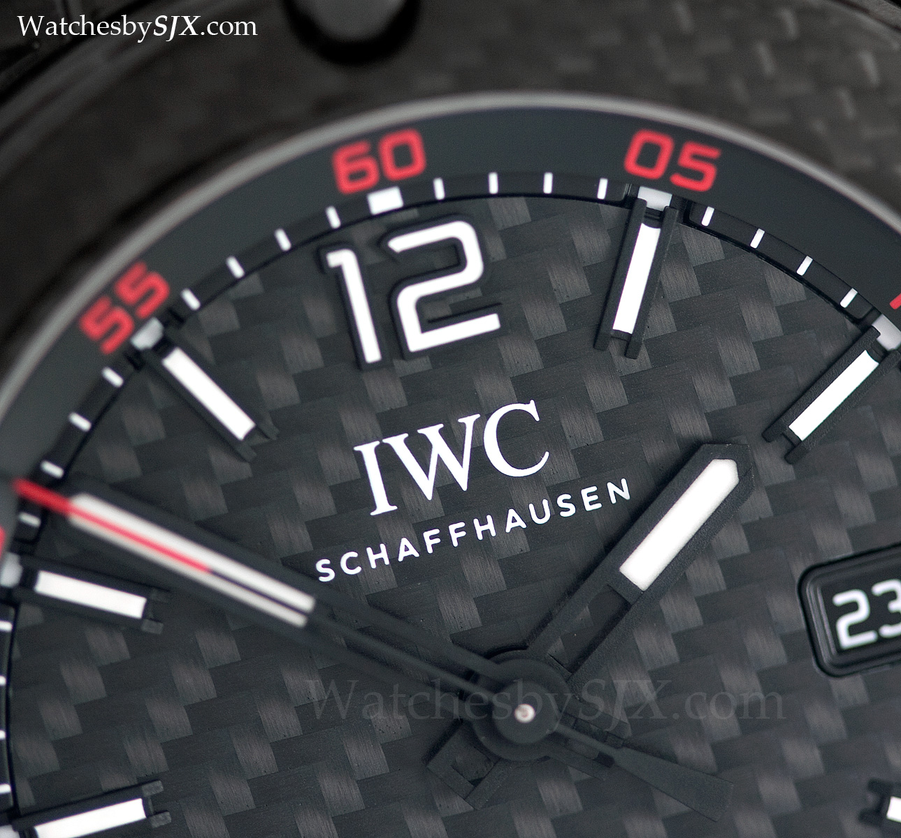 44d51289f21 Up Close With The IWC Ingenieur Automatic Carbon Performance (with pics and  pricing)