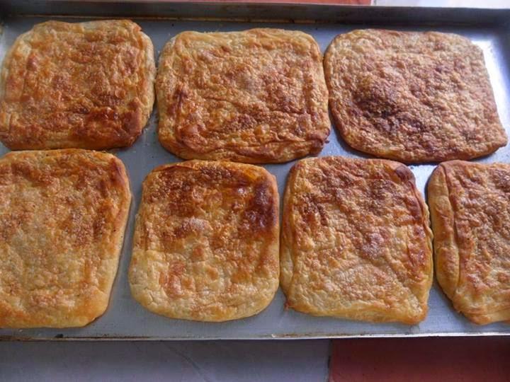 Recette du mssamen au sucre au four-مسمن او رغايف بلسكر في الفرن